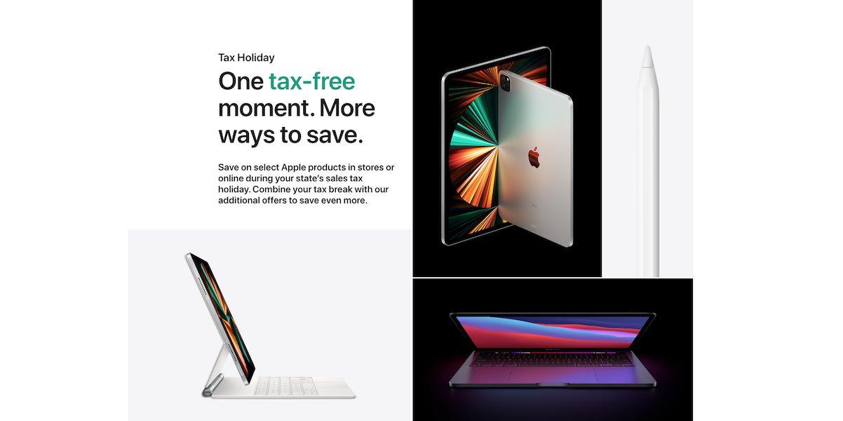 Apple Tax Free Holiday