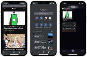 Chrome 92 for iOS