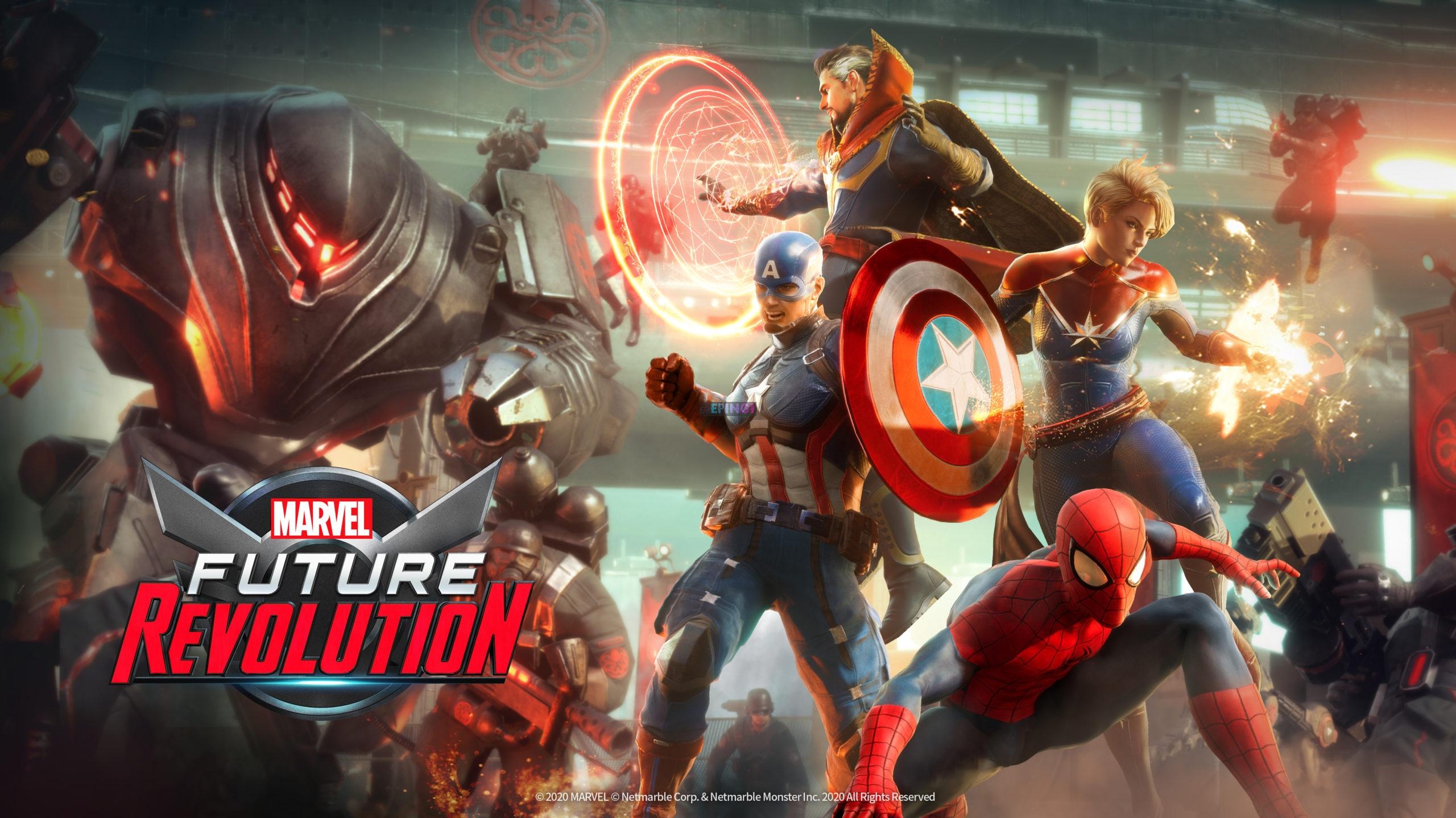 Marvel Future Revolution release date confirmed