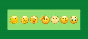 New emoji faces