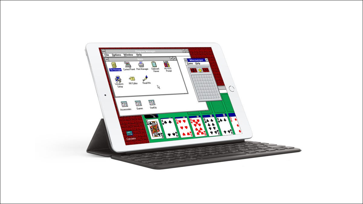 iDOS 2 Windows 3.1 iPad App Store