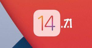 iOS 14.7.1 and iPadOS 14.7.1