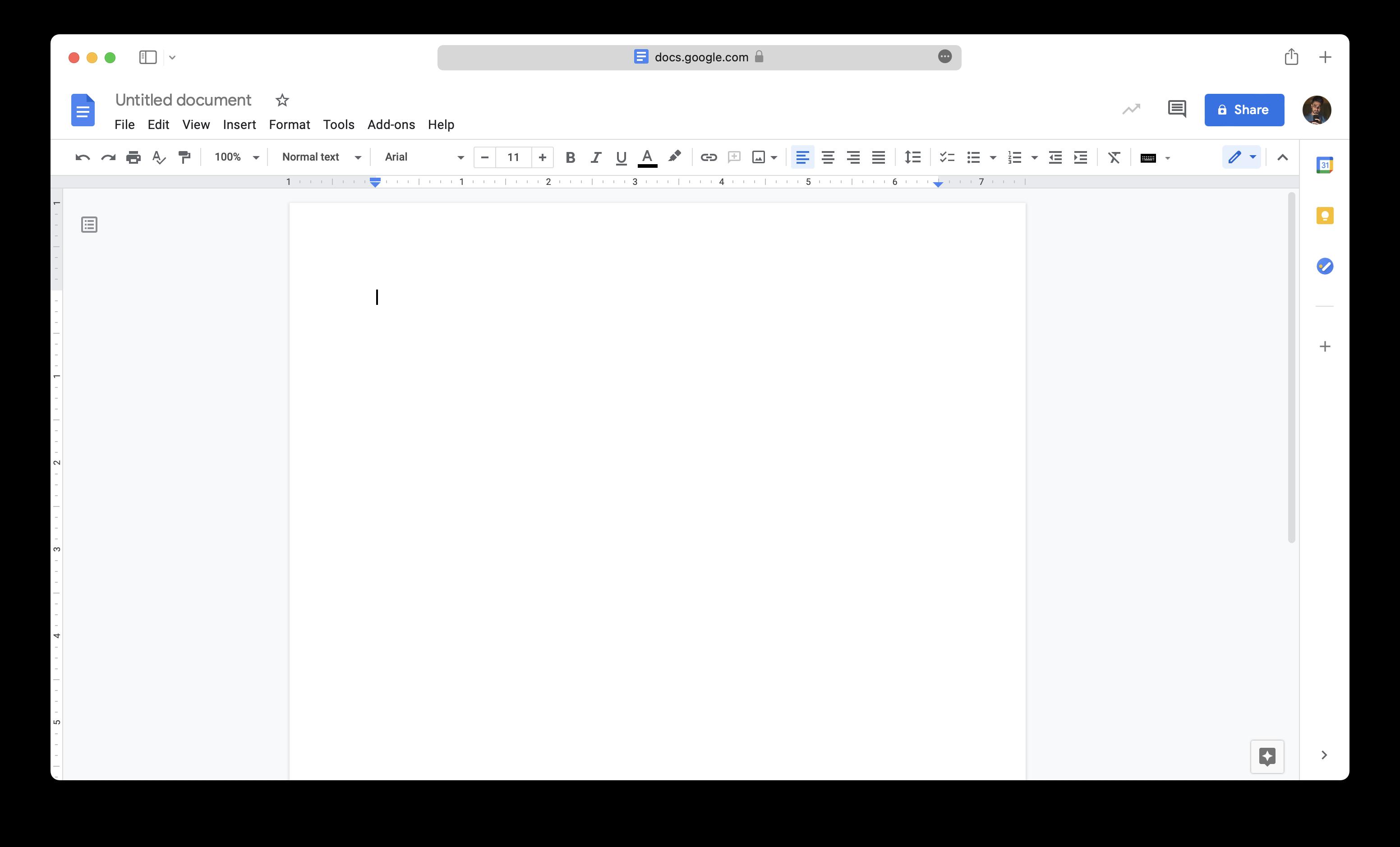 Google Docs, Mac Word