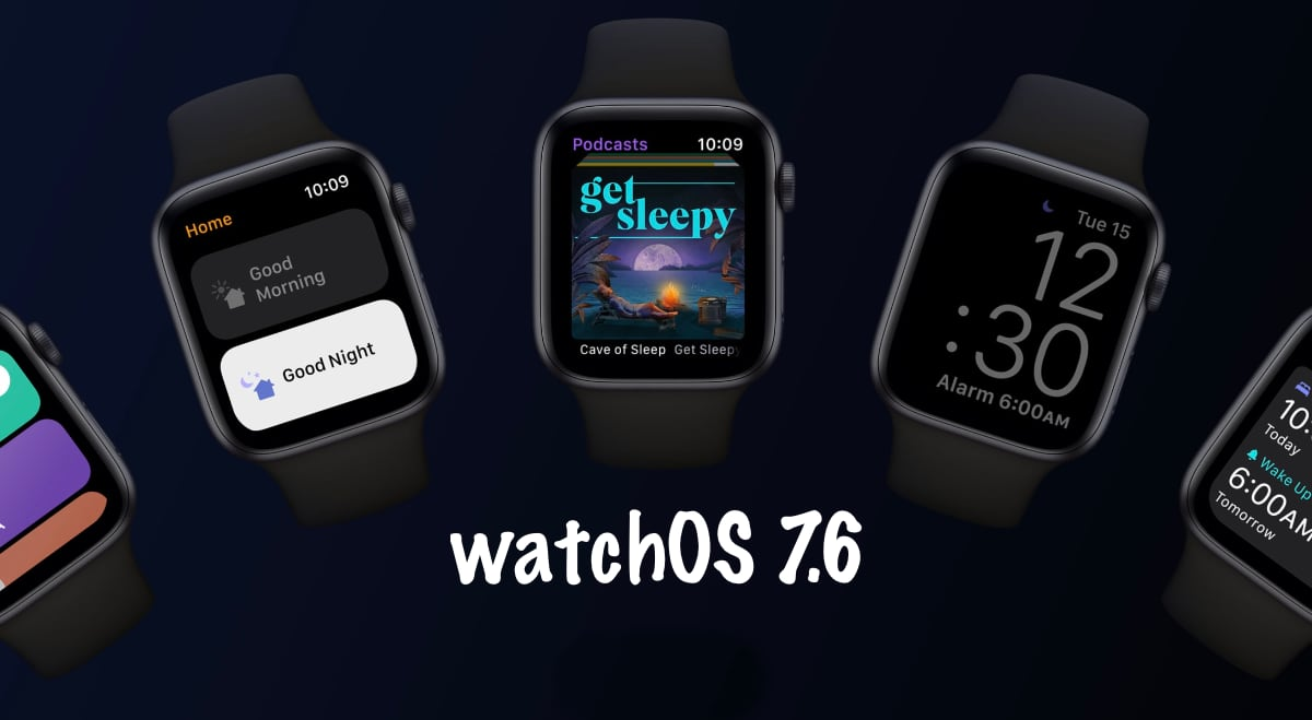 watchOS 7.6