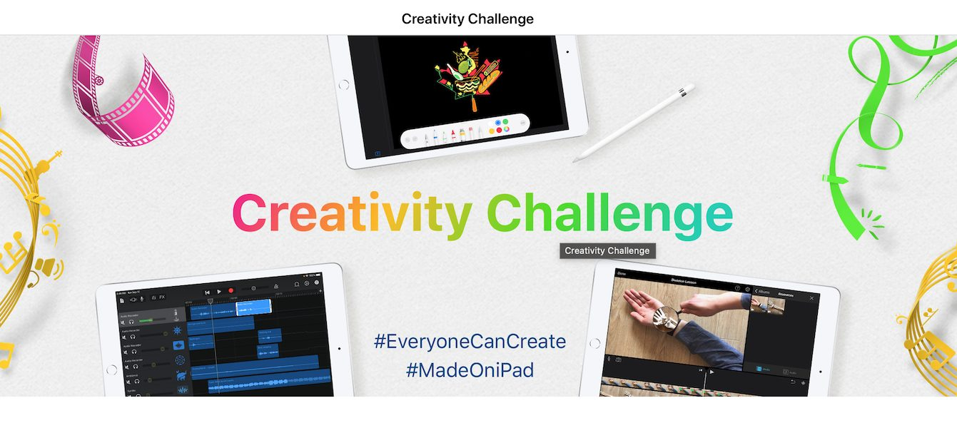 Apple creative challenges