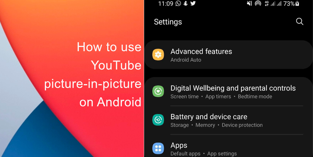 How to enable YouTube picture-in-picture on Android