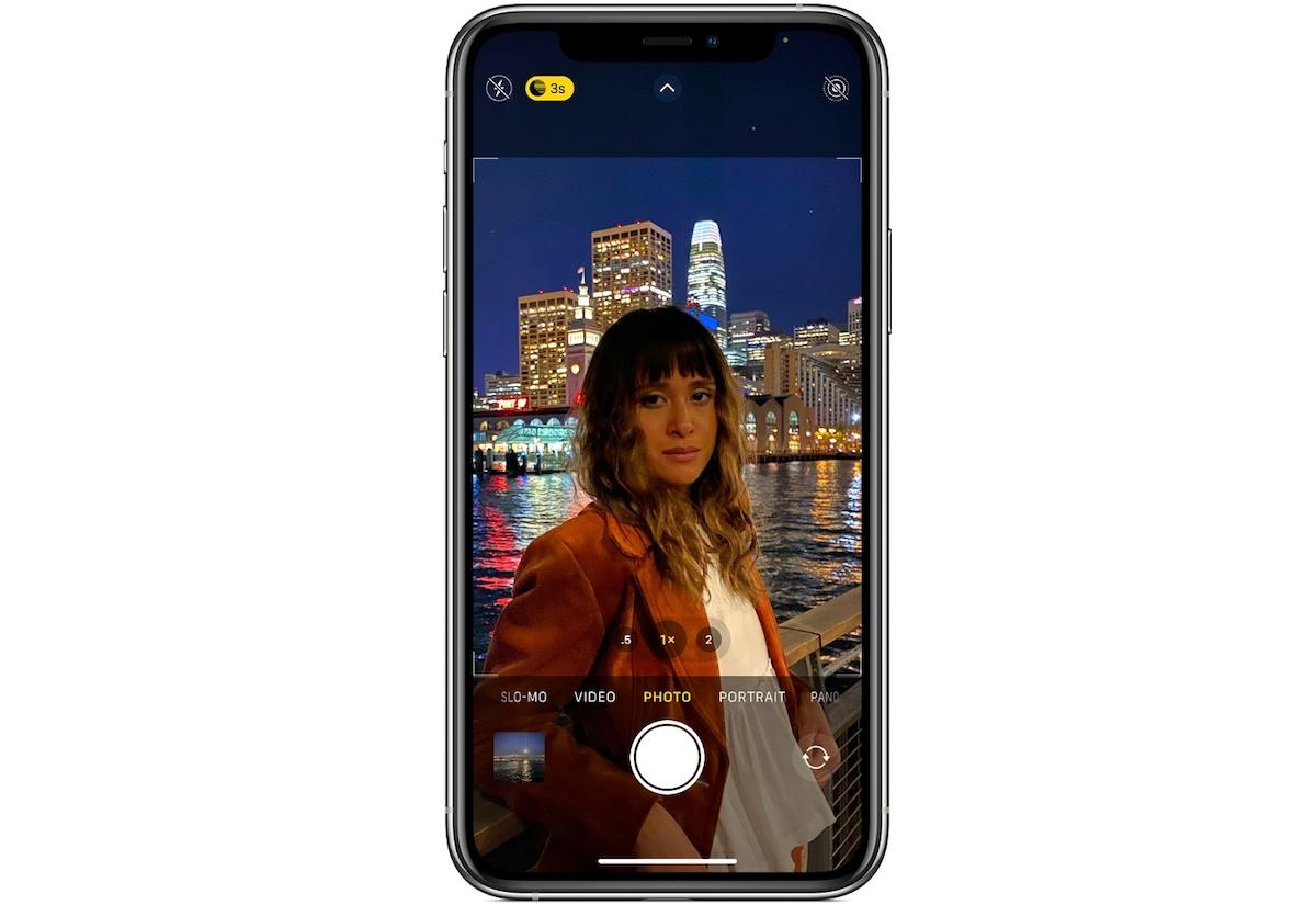 Night Mode iPhone