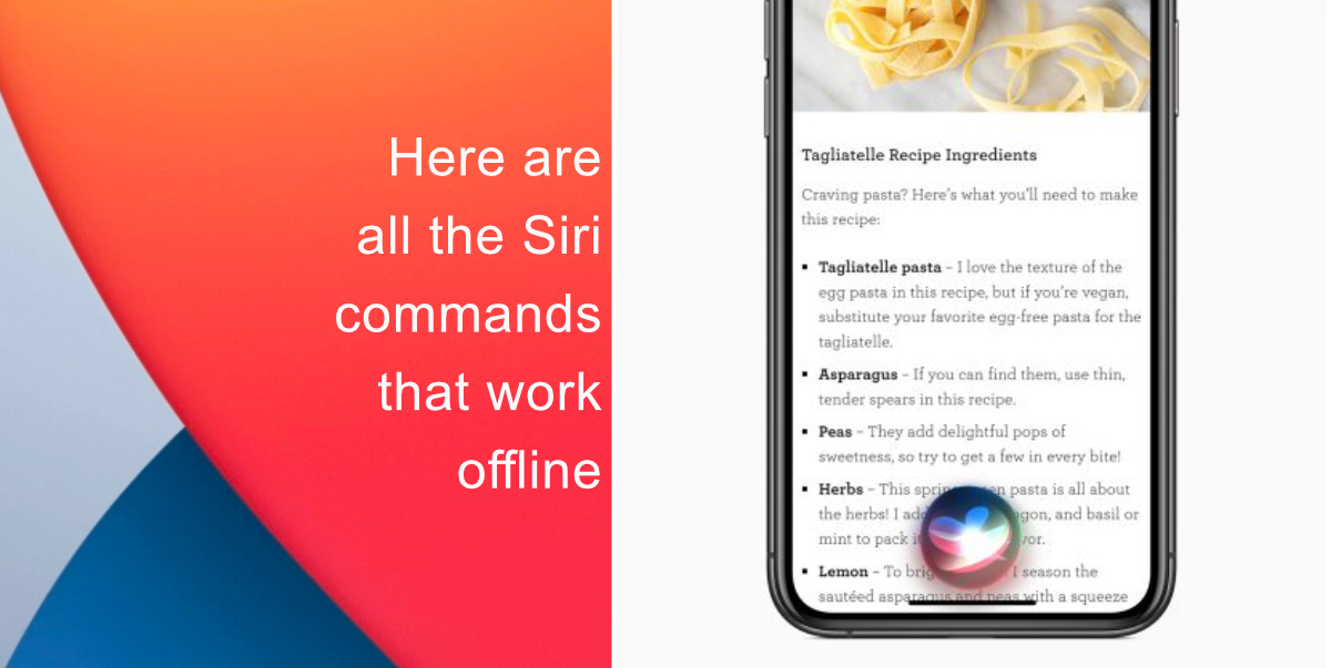 Here are all the Siri commands that work offline on iPhone and iPad