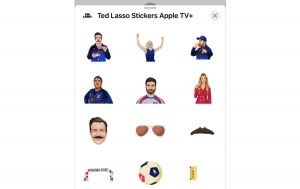 Ted lasso stickers