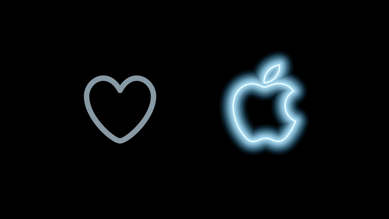Apple California Streaming event twitter like animation