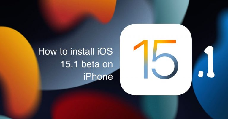 How to install iOS 15.1 beta on iPhone