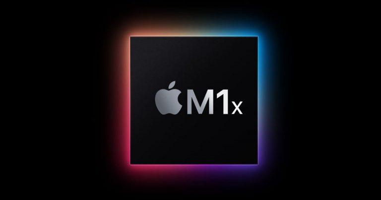 Apple M1x chip