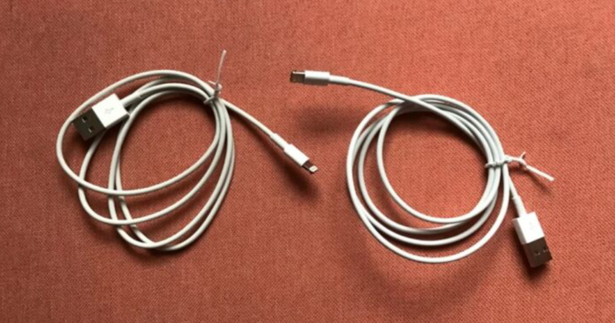 Malicious Lightning cable