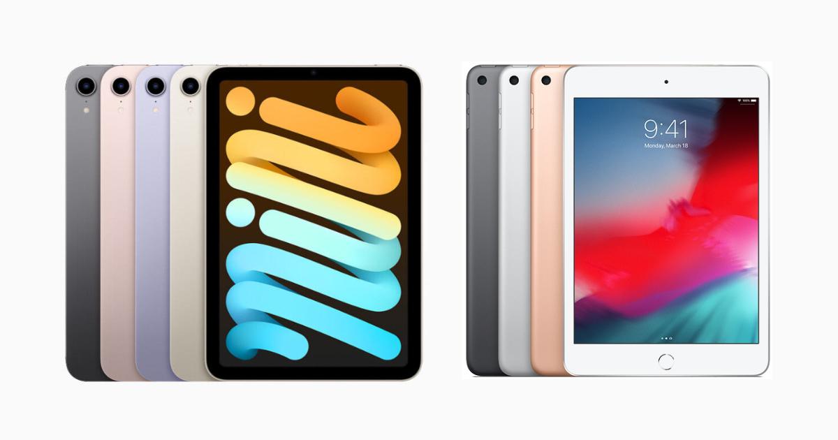 iPad mini 6 vs iPad mini 5