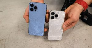iPhone 13 Pro Max's Ceramic Shield durability tested in drop test