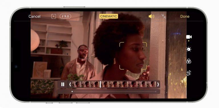 iPhone 13 pro - cinematic mode