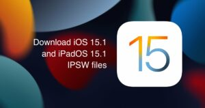 Download iOS 15.1