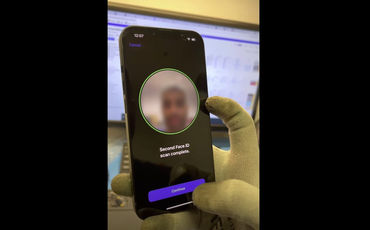 Face ID iPhone 13
