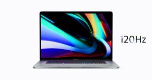 Apple- MacBook Pro 120Hz