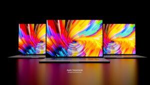 MacBook Pro renders