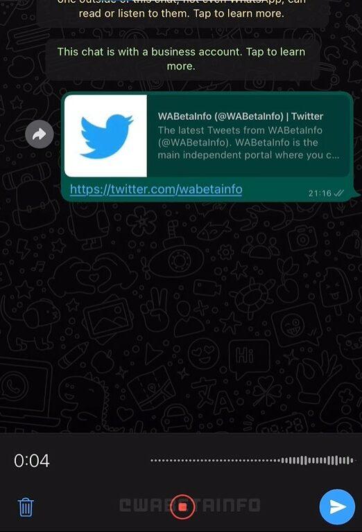 WhatsApp pause recordings e1633885871445