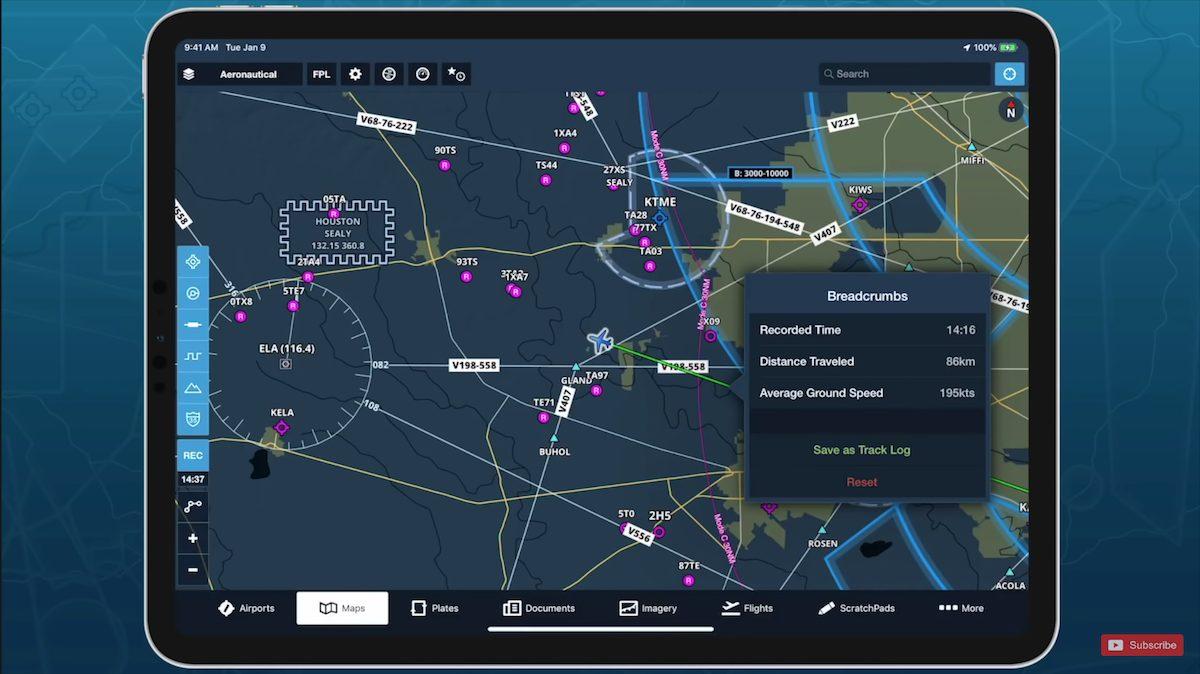 iPad mini flight app