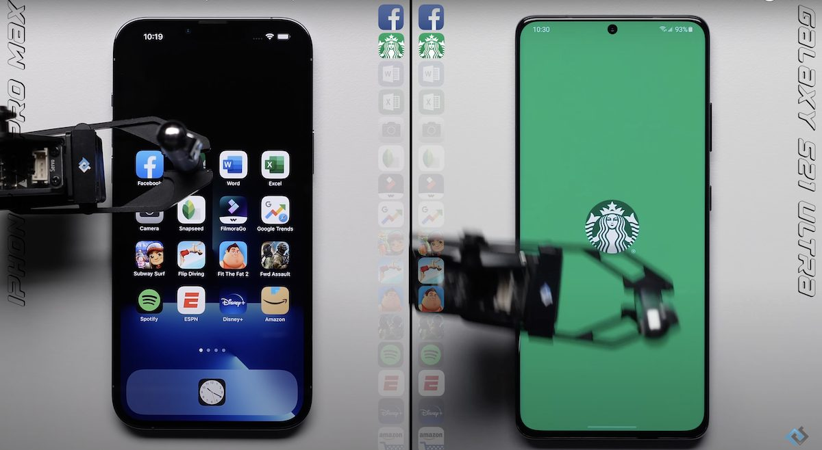iPhone 13 Pro Max vs Samung Galaxy S21 Ultra